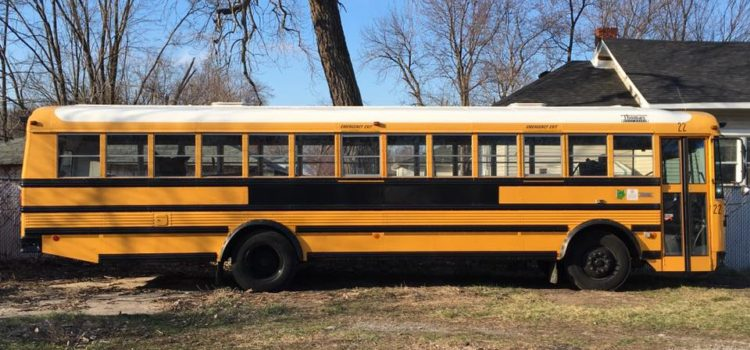 Yes, We Bought a School Bus