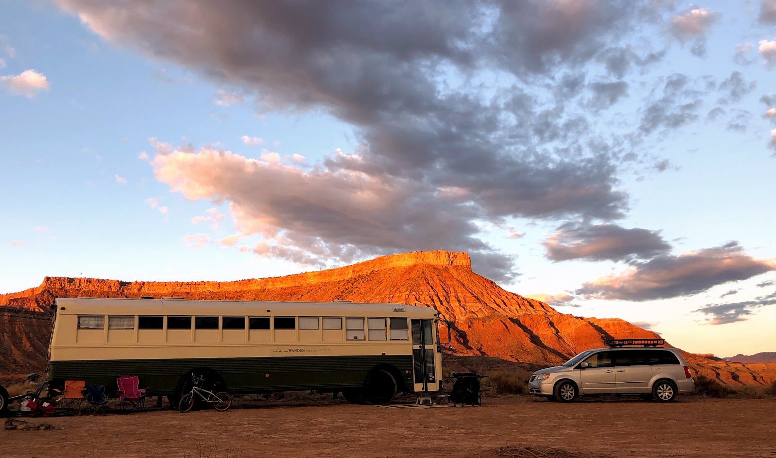 boondocking near zion
